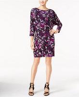 Nine West Printed Blouson Dress