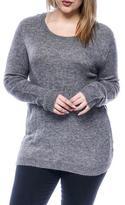 Jacqueline De Yong Women's Low-Cut Knit Sweater