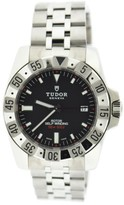 Tudor Rotor 20020 Stainless Steel Black Dial Automatic 40mm Mens Watch