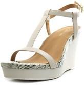 Calvin Klein Womens Jiselle Open Toe Casual Platform Sandals.