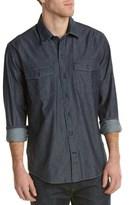 Cutter & Buck Equinox Denim Woven Shirt.