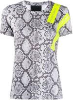 Philipp Plein crew-neck SS snakeskin-print T-shirt
