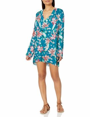 La Blanca Women's V-Neck Tunic Swimsuit Cover Up