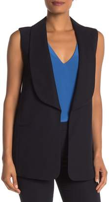 SUISTUDIO Amarant Sleeveless Jacket