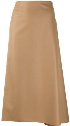 Sofie D'hoore Asymmetric Midi Skirt