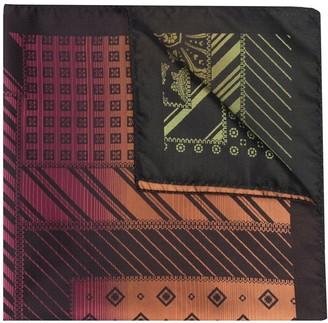 Etro Mix-Print Silk Foulard