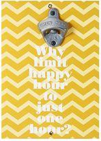 Element Happy Hour Magnetic Wall Bottle Opener