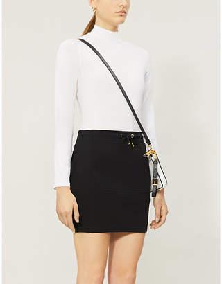 Moschino 'Moschino couture' logo-back cotton-blend skirt
