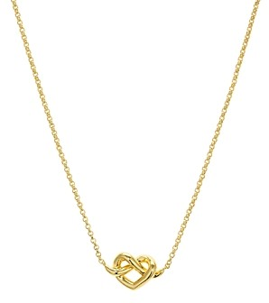 Kate Spade Loves Me Knot Mini Pendant Necklace, 16
