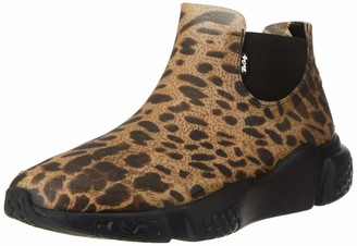 BeOnly Be Only Women's Stan Leopard Wellington Boots