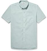 Nonnative Dweller Button-Down Collar Overdyed Cotton-Poplin Shirt