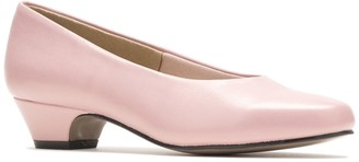 Hush Puppies Angel II Tapered Kitten Heel Pump - Multiple Widths Available