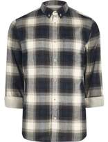 River Island Blue Casual Check Shirt