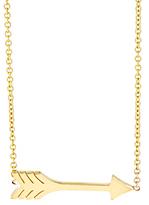 Jennifer Meyer Women's Arrow Pendant Necklace-GOLD, NO COLOR