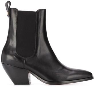 Sandro Paris Raph cowboy ankle boots