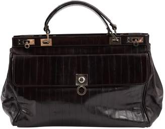 Trussardi Black Leather Handbags