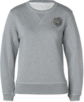 McQ by Alexander McQueen Grey Embroidered Sweater