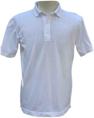 Fendi White Cotton Polo shirts
