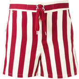 RED Valentino striped shorts - women - Silk/Cotton - 38