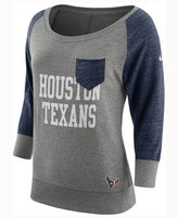 Nike Women's Houston Texans Vintage Crew Long Sleeve T-Shirt