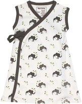 Maple Clothing Organic Cotton Baby Girl Kimono Dress GOTS Certified Clothes (, 18-24m)