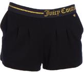 Juicy Couture Black Pocket Shorts