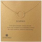 Dogeared Karma 14k Gold-Plated Necklace