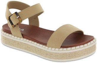 Mia Espadrille-Style Ankle Strap Sandals - Dawna