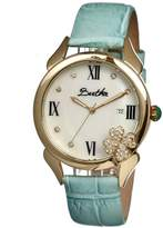 Mother of Pearl Clover Gold-tone Steel White Dial Ladies Watch