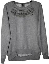 BCBGMAXAZRIA Grey Cotton Knitwear