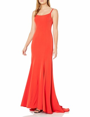 Mac Duggal Women's Strappy Gown