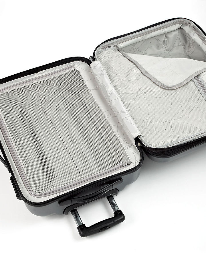 "Samsonite Gravtec 20"" Carry On Hardside Spinner Suitcase"