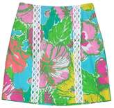 Lilly Pulitzer Cotton MultiColor Printed Mini Skirt