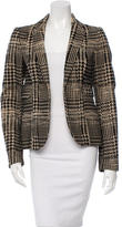 CNC Costume National Patterned Wool Blazer