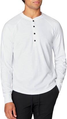 Good Man Brand Legend Slub Long Sleeve Henley T-Shirt