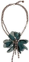 Lanvin Floral-embellished necklace