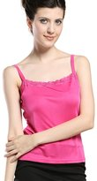 Forever Angel-Women's Tops Forever Angel Women's Knitted Silk Lace Camisole Top Size L