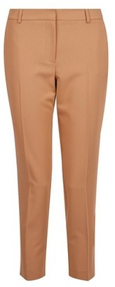 Dorothy Perkins Womens Dp Petite Camel Ankle Grazer Trousers
