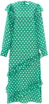 Hayley Menzies Sweetheart Sage Midi Frill