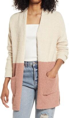 Thread & Supply Cozy Color Block Cardigan