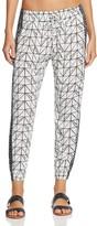 Dolce Vita Printed Swim Cover-Up Pants