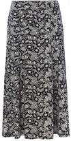 Tigi Leaf Outline All Over Print Skirt