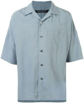 Attachment Short Sleeve Button Up Shirt
