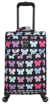 """Swiss Gear French West Indies 20"""" Carry On Spinner Carry On Luggage - Butterfly"""