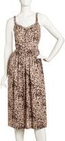 Rebecca Taylor Ocelot-Print Tank Dress
