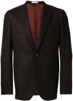 Boglioli tweed two button blazer