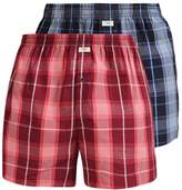 Jockey 2 Pack Boxer Shorts Claret