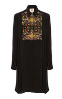 Figue Onyx Embroidered emmanuel tuxedo tunic