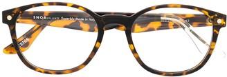 S'nob Radfreak clip-on lens glasses