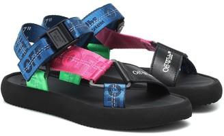 Off-White Logo tape sandals